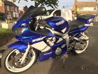 Yamaha r6 22k mot till may 2018