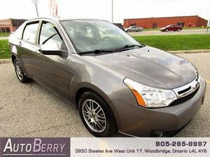 2011 Ford Focus SE ***ACCIDENT FREE***CERTIFIED*** $5,299