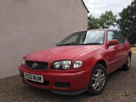 Toyota Corolla VVTI GS 2001 £395 12 months MOT Bargain