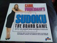 Carol vordemans sudoku board game