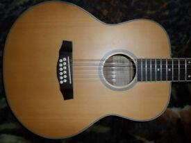 tokai cats eyes 12 string guitar