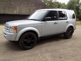 2009 LAND ROVER DISCOVERY TDV6 GS A SILVER 78000 MILES