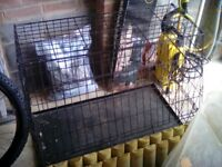 Car dog cage - suitable hatchback car\estate\4x4