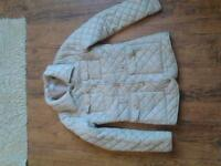 beige girls coat