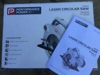 Performance power laser circular saw