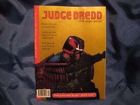 2000AD/Judge Dredd specials batch