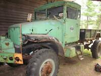 1955 GMC 2 and 1/2 ton 6X6 Army Truck