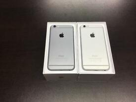 iPhone 6 16gb unlocked good condition with warranty and accessories