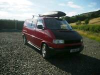 VW T4 day van / half conversion