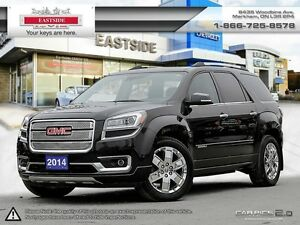2015 GMC Acadia Denali-DVD-Only 38 KM-Leather