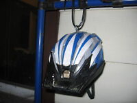 Bike Helmet Bird Feeder