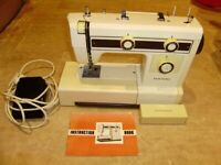 Sewing machine / New Home by Janome electric sewing machine, heavy duty, VGC