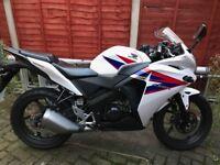 Honda CBR125 12 months MOT 2100