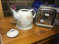 NEXT kettle and toaster