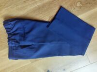 NEXT BLUE FORMAL BOYS TROUSERS ~ AGE 8 ~ NEVER WORN ~ BOYS CLOTHES ~ ONLY £1.50