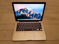 "Immaculate Apple MacBook Pro ""Core i7"" 3.0 ghz 13"" Mid-2014 8gb 1600mhz ram 512gb ssd"
