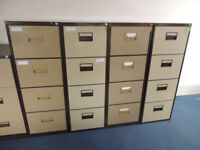 Filing cabinet x 4