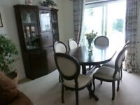 Dining Room Table with 6 chairs and Dresser