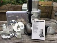 KitchenAid food processor and blender