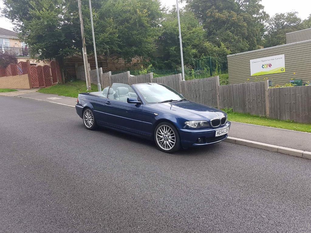 2004 54 BMW 318CI CONVERTIBLE MANUAL BLUE 118k | in Chesham ...