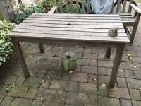PICNIC TABLE LARGE WOODEN - COLLECT RICHMOND, SURREY