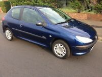 56 REG PEUGEOT 206 1.4 URBAN JUST HAD TIMING BELT REPLACED