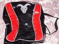 Black and Red Corset Bag.