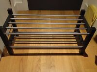 Ikea shoe rack black brown - LIKE NEW