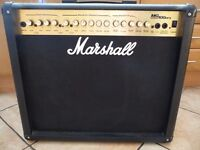 Marshall 100 watt guitar amplifier combo MG100DFX