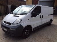 2004 VAUXHALL VIVARO 1.9 CDTI LONG WHEEL BASE FSH