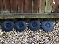 Vw t4 wheel centre trim caps