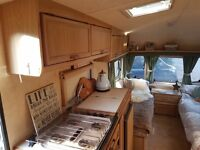 REDUCED MUST GO ASAP! Lunar 6 Berth, Great condition, no damp, new electrics and jockey wheel
