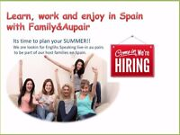 Family and Au Pair - Au Pair Positions in Spain
