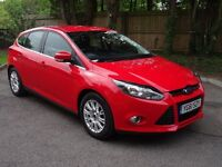 2012 61 Reg Ford Focus 1.6 Titanium 5dr Manual Hatchback Bluetooth (A/C) *IMMACULATE CONDITION*