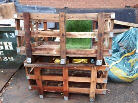 FREE two large wooden crates