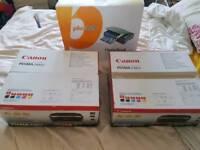 2 x Canon iP4850 Printer & Inkjet Scanner Free