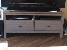 Ikea Brown 2 draw Hemnes tv unit / stand !