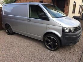 "2010 VW Transporter T5 2.0 TDI 20"" Alloys Aircon Electric Windows No VAT"