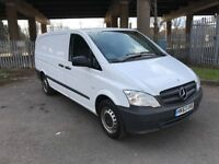 2014 Mercedes Vito 113 CDi Long Wheelbase 5 Door Panel Van 1 Owner HPI Clear Long MOT Cruise NO VAT