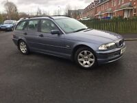 BMW 320 D (diesel) ESTATE CAR-- FULL SERVICE HISTORY -- GOOD CONDITION