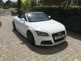 Audi TT Black Edition TDI Quattro 2.0 convertible May 2013