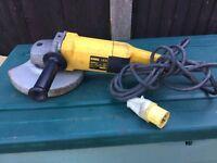 Dewalt DW490L-xw 110v 230mm angle grinder