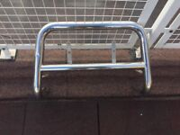 VW TOURAN BULL BAR WITH NUMBER PLATE