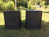 Turbosound TXD118 PA Speakers / Subwoofers (Pair)