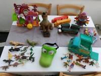 Toys bundle imaginext, Scooby doo, star wars