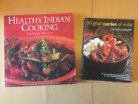 As New Cookbooks - 50 Great Curries of India & Healthy Indian Cooking