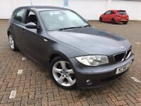 2006 BMW 120D SE 6 SPEED FSH 160 BHP TOP CONDITION LOW MILES NEW MOT.