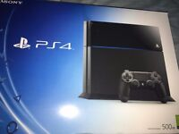 Playstation 4 with 2 Games and 1 controller