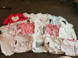 0-3 months girl clothes
