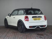 MINI HATCHBACK 2.0 COOPER S [JCW Upgraded Wheel] 3DR AUTO (white) 2014
